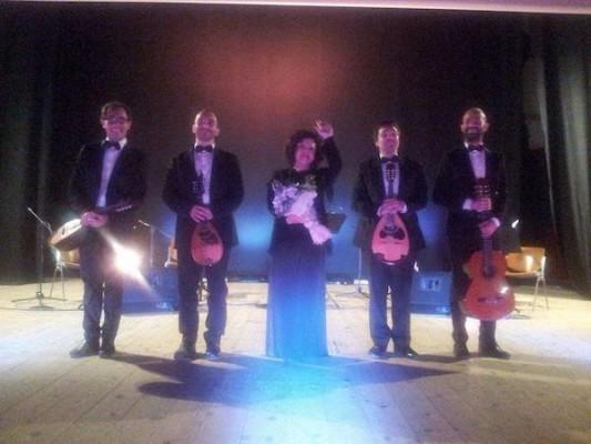 Antonella e Hathor Plectrum Quartet a Ostuni 15.05.2015