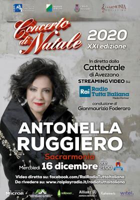 Locandina Concerto di Natale 2020